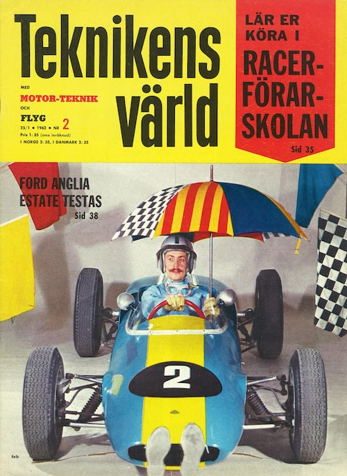 Picko på omslaget av Teknikens Värld 25/1962.