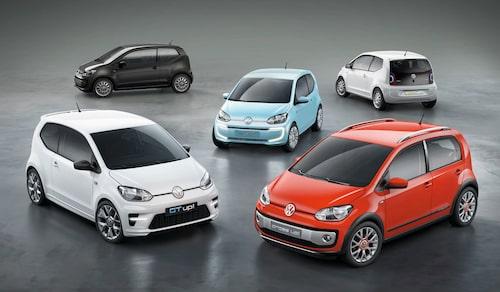 Volkswagen visar Up Family