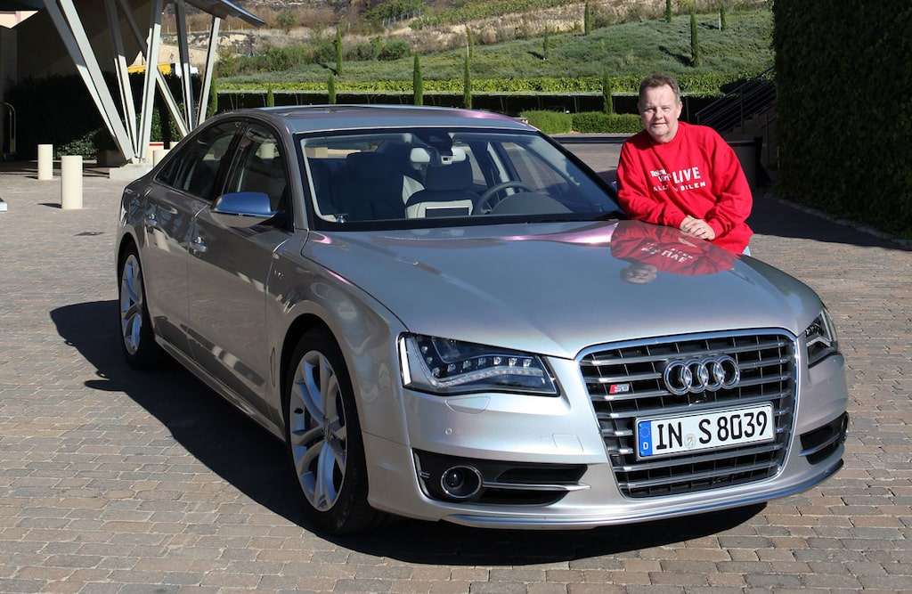 Nya Audi S8