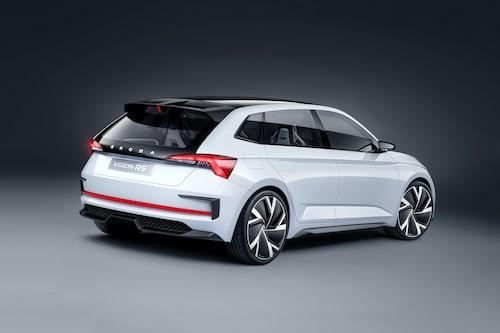 Konceptbilen Vision RS som hade premiär för ett par veckor sedan.