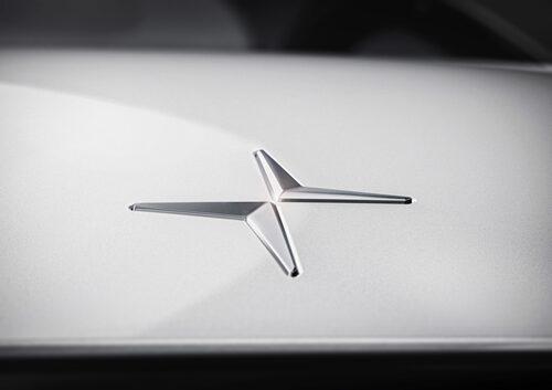 Polestars logotyp och emblem som självständigt märke.