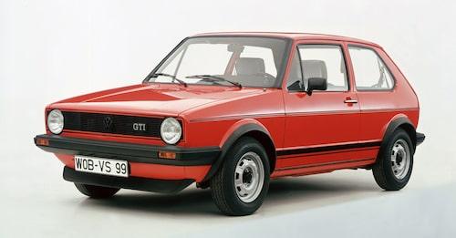 Volkswagen Golf GTI Mk1 är Giugiaro skyldig till.