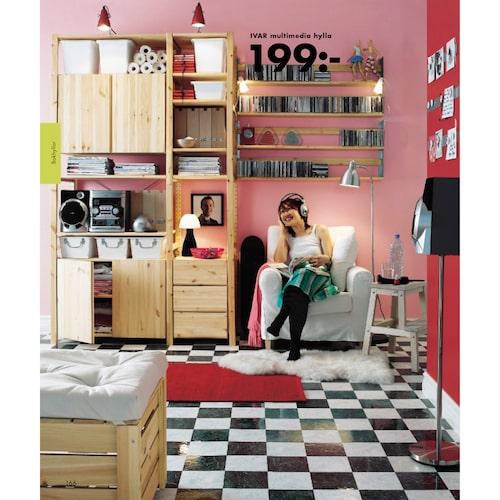 IVAR i IKEA-katalogen 2005.