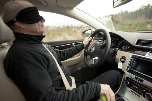 Premiumtestets mest prestigefyllda gren – körning. Volkswagen Passat gav premiumvibbar.