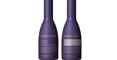Silverschampo för grått hår från Björn Axén.