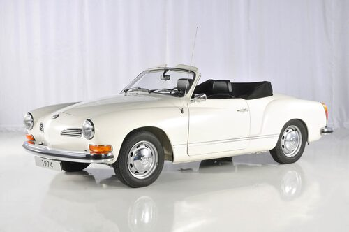 Karmann Ghia Cabriolet 1957–1974.