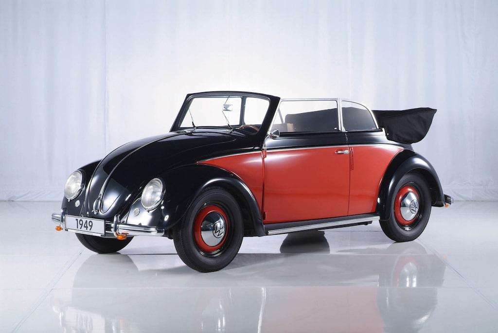 Beetle Cabriolet (Karmann) 1949–1980.