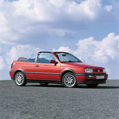 Golf III Cabriolet 1993–1998.