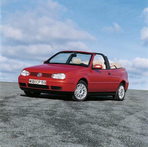 Golf IV Cabriolet 1998–2002.