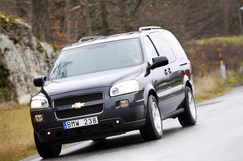 Provkörning av Chevrolet Uplander 3,9 V6