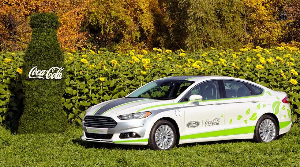 Ford Fusion Energi Coca-Cola PlantBottle