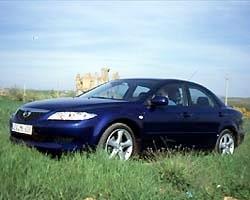 Provkörning av Mazda 6