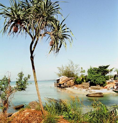 Vackra stränder hittar du lätt i Kambodja.