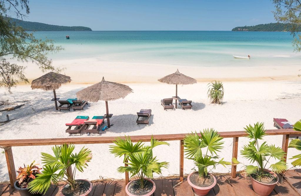 Kambodja är vackert att resa till – och billigt att leva i.