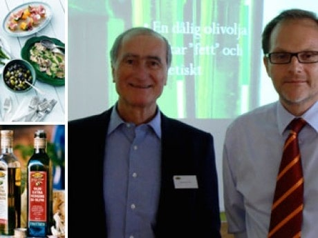 <p>Fernando Di Luca och Per Nilsson p&aring; Di Luca &amp; Di Luca som bland annat g&ouml;r Zeta olivolja.</p>
