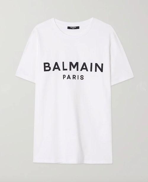 Logotröja från Balmain.