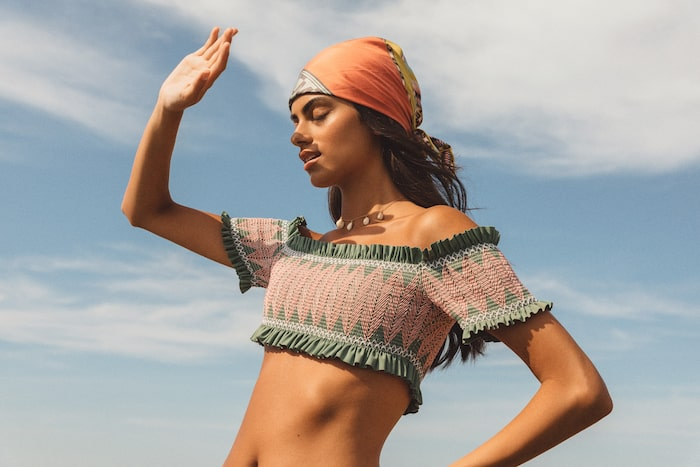 Bikini från By Malina vårkollektion 2021.