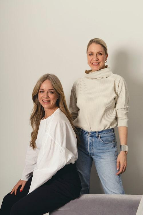 Ebba Kleberg von Sydow och Emilia de Poret är duon bakom Säker stil.