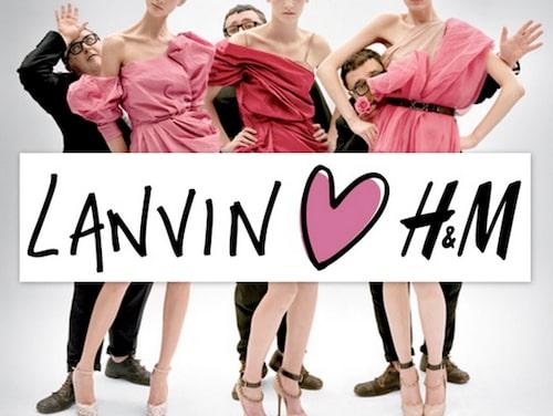 2010 sjösattes samarbetet mellan Lanvin och H&M där Alber Elbaz, likt Karl Lagerfeld, hade en tydlig roll även i marknadsföringen.