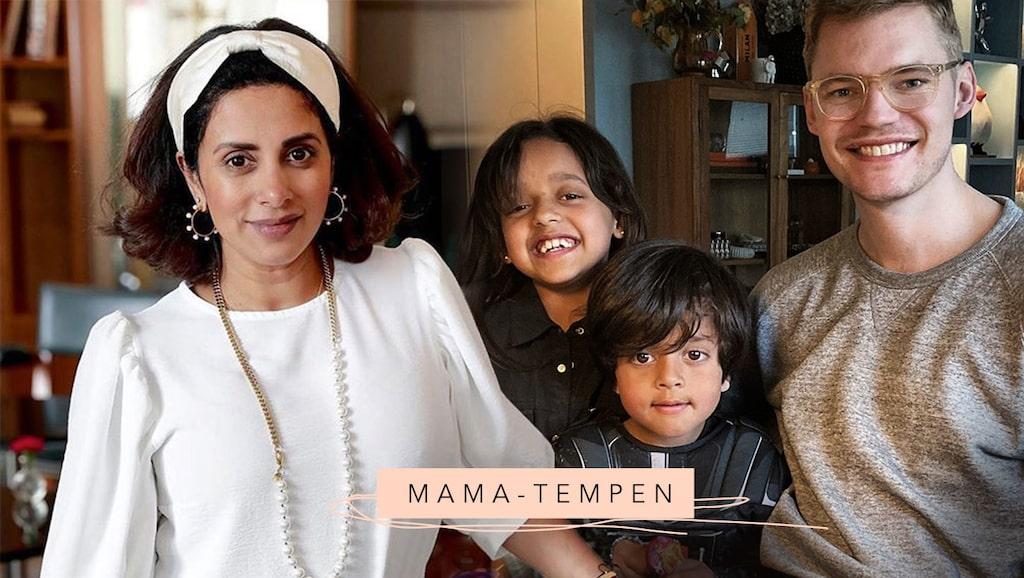 Anitha Clemence är mamma till Penny och Tom Allan samt sambo med Joel Åhlén-Nyström.