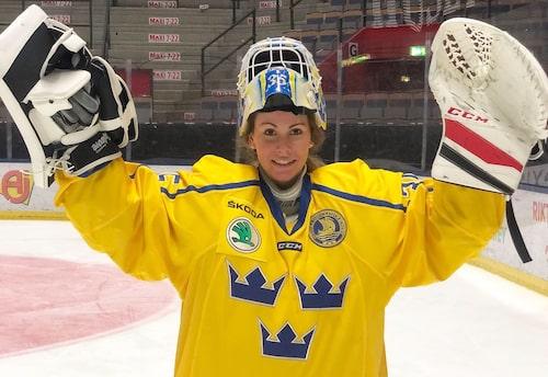 Valentina Lizana Wallner, 29,Järfälla, fd hockeyproffs och målvaktstränare för U18-damlandslaget.