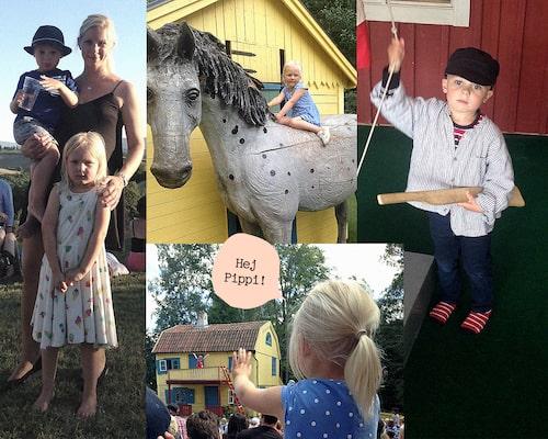 Såväl barn som vuxna uppskattar en weekend på Astrid Lindgrens värld.