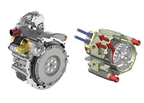 Motorn 650S och systemet SPARCS.