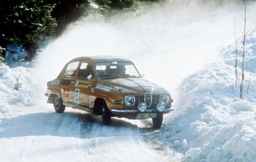 Per Eklund i 1975 års Svenska vinterrally.
