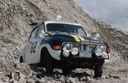 Saab 96, specialpreparerad för Baja 1000 1969.