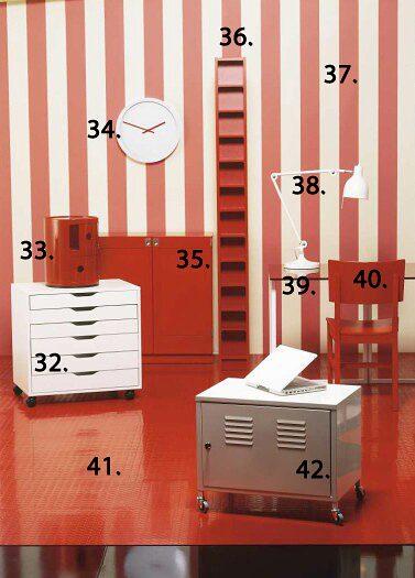 32. Rullhurts Alex, 995 kr, Ikea.