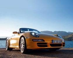 Provkörning av Porsche 911 Carrera Cabriolet