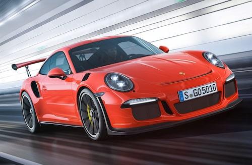 ... är bättre än Porsche? Här i form av nya 911 GT3 RS.