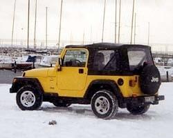Provkörning av Jeep Wrangler 4,0L Sport