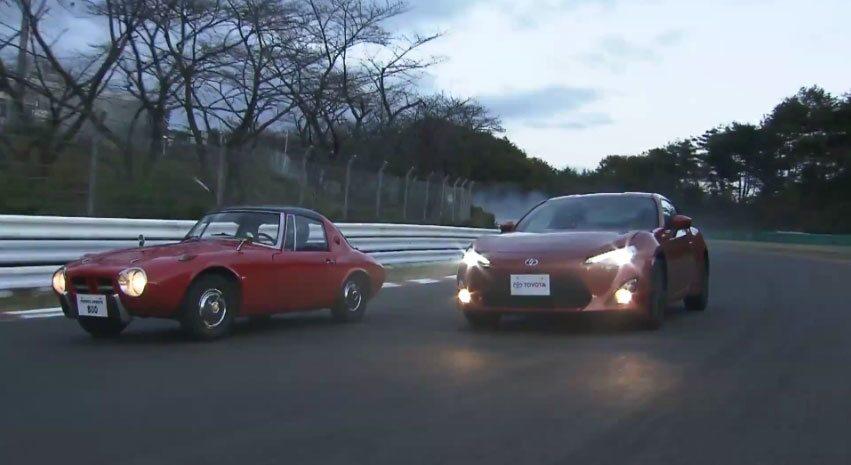 Toyota Sports 800 och Toyota GT 86