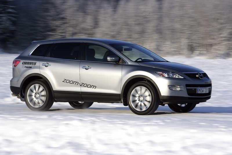 Provkörning av Mazda CX-9