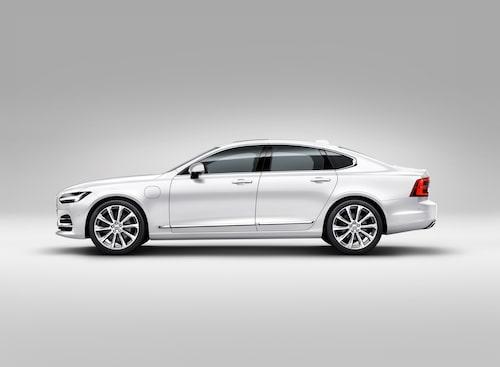 Volvo S90 White