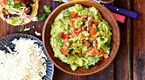 Recept på guacamole.