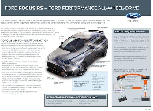 Här kan du fördjupa dig i tekniken bakom nya Ford Focus RS fyrhjulsdrift. På engelska.