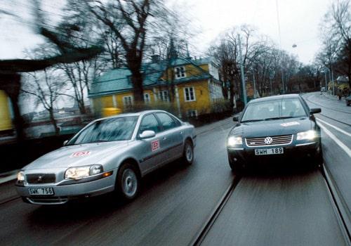 Volkswagen Passat W8 och Volvo S80 T6