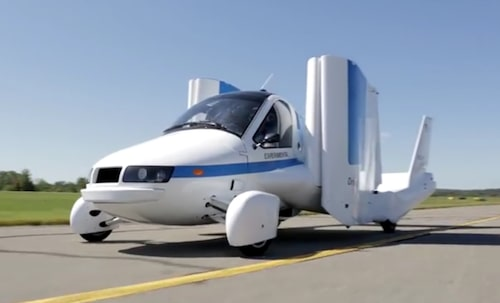 Flygbilstillverkaren Terrafugia ägs sedan 2017 av Geely och är därmed kusin till Volvo.
