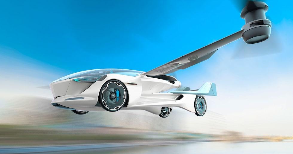 Aeromobil 5.0 är ett koncept som förutspår en kommande flygande sportbil från Slovakien.