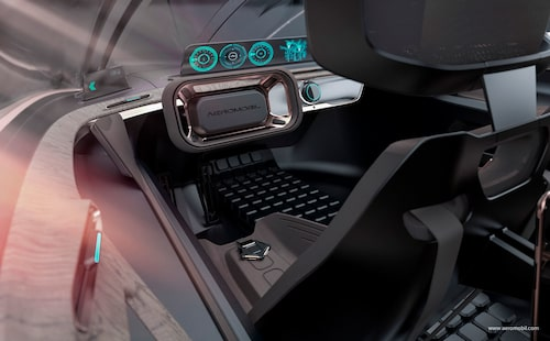 De flygande bilarna kommer inledningsvis att behöva en förare (eller pilot) som i framtiden ska ersättas av ett autonomt körsystem.