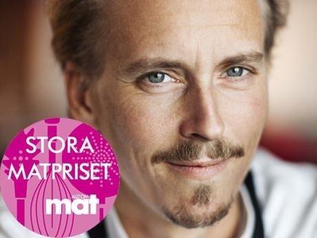 Kocken Paul Svensson får Allt om Mat: stora matpris 2012.