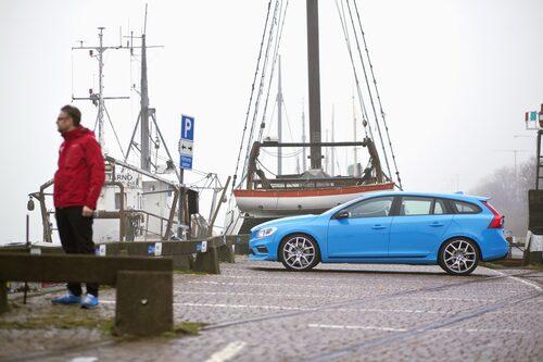 Det är Volvo V60 Polestar du ska titta på, inte Hans Hedberg!
