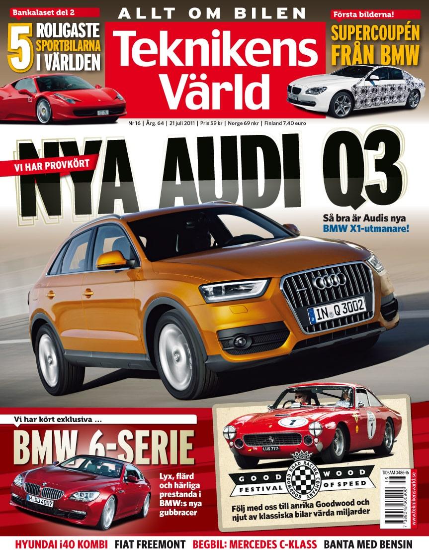 Teknikens Värld nummer 16 / 2011