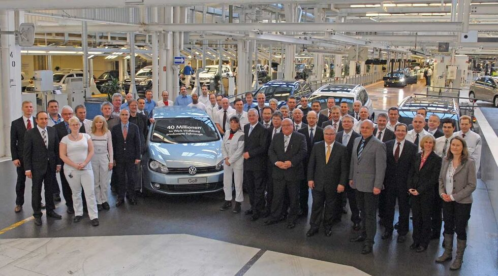 40 miljoner Volkswagen
