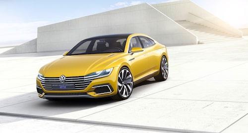 Volkswagen Sport Coupé Concept GTE från 2015 var hela 487 centimeter lång med ett axelavstånd på 302 centimeter.