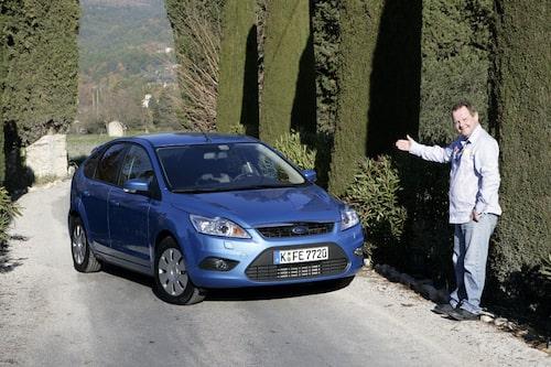PeO Kjellström var i franska Nice och provkörde nya Ford Focus ECOnetic med start/stopp.