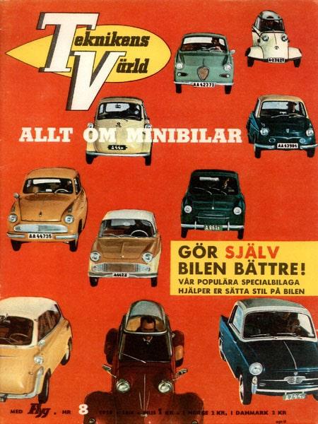 Teknikens Värld nummer 8 / 1959