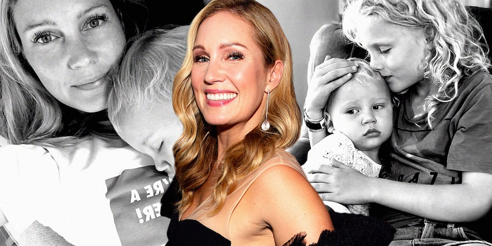 Jessica Almenäs är mamma till sönerna Jack, Dylan och Sam.